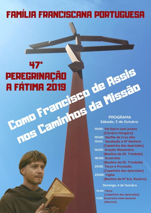 PEREGRINAÇÃO FRANCISCANA 2019